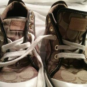Coach Barrett Canvas Shoes 8B